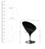Hydraulic Bar Chair in Black Colour by Penache