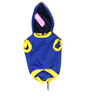 Iam the Boss Dog Hoodie in Blue (Size 10)