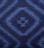 Imperial Knots Blue Wool 96 x 60 Inch Rug
