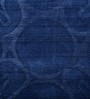Imperial Knots Blue Wool Viscose 72 x 48 Inch Carpet