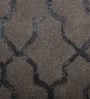 Imperial Knots Grey Wool Viscose 60 x 36 Inch Lattice Handtufted Carpet