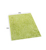 Imperial Knots Lime Green Polyester 36 x 29 Inch Carpet