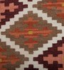 Imperial Knots Multicolour Wool 60 x 36 Inch Handwoven Turkish Dhurrie