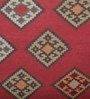 Imperial Knots Multicolour Wool 96 x 60 Inch Handwoven Turkish Dhurrie