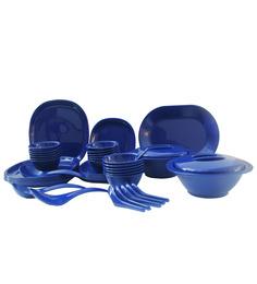 Incrizma Square 32 Pc Dinner Set - NAVY BLUE
