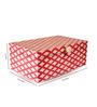 In'Design Bone Inlay Work Wooden Red Box