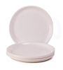 Incrizma Plastic Round 12 Pc Dinner Plates White