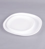 Incrizma White Melamine Square Plates - Set Of 12