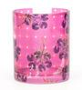 India Circus Red Paradise Pink Glass 320 ML Coffee Mug