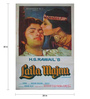 Indian Hippy Paper 20 x 30 Inch Laila Majnu Vintage Unframed Bollywood Poster