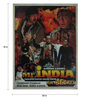 Indian Hippy Paper 20 x 30 Inch Mr. India Vintage Unframed Bollywood Poster