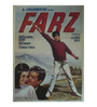 Indian Hippy Paper 30 x 40 Inch Farz Vintage Unframed Bollywood Poster