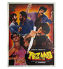 Indian Hippy Paper 30 x 40 Inch Tezaab Vintage Unframed Bollywood Poster