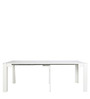 Inside Convertible Console cum Dining Table in White Colour by Gravity