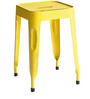 Erco Iron Stool in Yellow Colour by Bohemiana