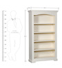 Isabella Book Shelf in Mango Wood by Amberville