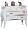 Isabella Chest of Drawers in Paris White Finish by Amberville