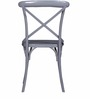 Alva Metal Chair in Grey Color by Bohemiana