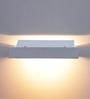 Jainsons Emporio Crail White Metal Wall Light