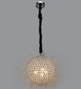 Jainsons Emporio Golden Crystal Ball Pendant Light