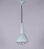 Jainsons Emporio Grey Metal Grid Pendant Lamp