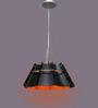 Jainsons Emporio Octagon Black Metal Pendant Lamp
