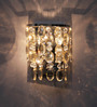 Jainsons Emporio Silver Crystals Charley Wall Mounted Light