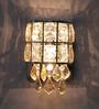 Jainsons Emporio Silver Crystals Hailey Wall Mounted Light