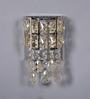 Jainsons Emporio Silver Crystals Parley Wall Mounted Light