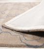 Jaipur Rugs Silver Grey & Aegean Blue Wool 60 x 96 Inch Area Rug