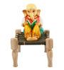 JaipurCrafts Multicolor Stoneware Lord Ganesha Showpiece
