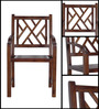 Enumclaw Arm Chair in Provincial Teak Finish by Woodsworth