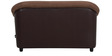 Jennifer Two Seater Sofa in Brown Colour by Urban Living