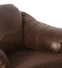 Jinerio One Seater in Brown Finish by Godrej Interio