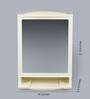 JJ Sanitaryware Ivory Plastic Cabinet