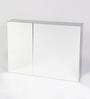JJ Sanitaryware Leon Stainless Steel Bathroom Mirror Cabinet