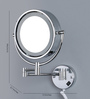 JJ Sanitaryware MF-13 LED Chrome Brass Shaving Mirror