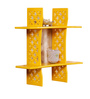 Joywave Eclectic Wall Shelf in Yellow by Bohemiana