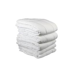 Just Linen White Cotton Queen Size Duvet Cover - Set Of 5