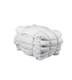 Just Linen White Cotton Queen Size Duvet Cover - Set Of 5 - 1525544