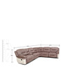 Jupiter Fabric Lounger with Recliner by HomeTown