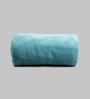 Just Essential Ocean Blue Wool & Polyester Single Size Blanket