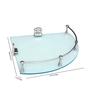Jvs Blue Plastic Bathroom Cabinet