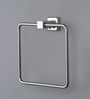 Jwell Silver Stainless Steel 6.7 x 2.8 x 7.1 Inch Towel Holder