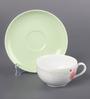 Kahla Aronda Fresh Poppy Porcelain 210 ML Cup & Saucer