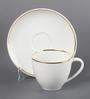 Kahla Line of Gold Diner Porcelain 210 ML Coffee Cup