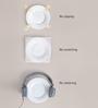 Kahla Magic Grip Diner White Porcelain Soup Bowl