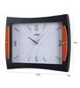 Kaiser Black Wooden 13 x 2 x 10 Inch Wall Clock