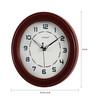 Kaiser Cola Wooden 9.6 Inch Round Wall Clock