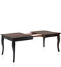 Kaiser Six Seater Dining Set in Cappuccino Finish by @ Home